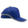 Gorra bandas reflectantes azul - RGregalos