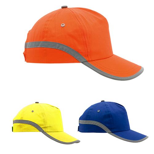 Gorra bandas reflectantes colores - RGregalos