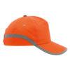 Gorra bandas reflectantes naranja - RGregalos