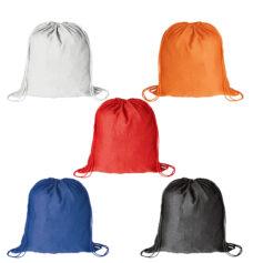 Mochila plana 100% algodón colores - RGregalos