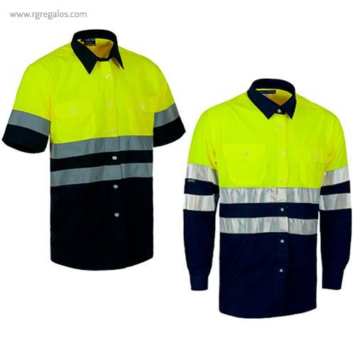 Camisa alta visibilidad bicolor - RG regalos publicitarios