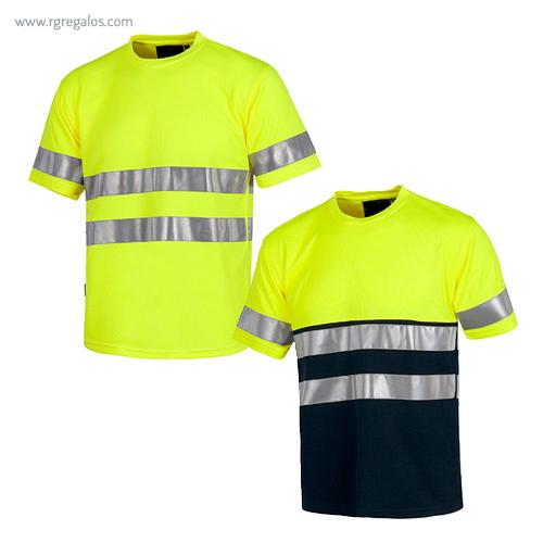 Camiseta alta visibilidad combinada o lisa - RG regalos publicitarios