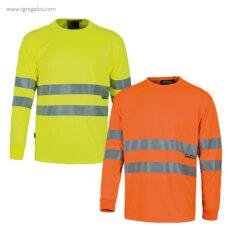 Camiseta alta visibilidad manga larga - RG regalos publicitarios