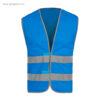 Chaleco alta visibilidad T01 azul - RG regalos publicitarios