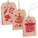 Etiqueta adorno navidad - RG regalos publicitarios
