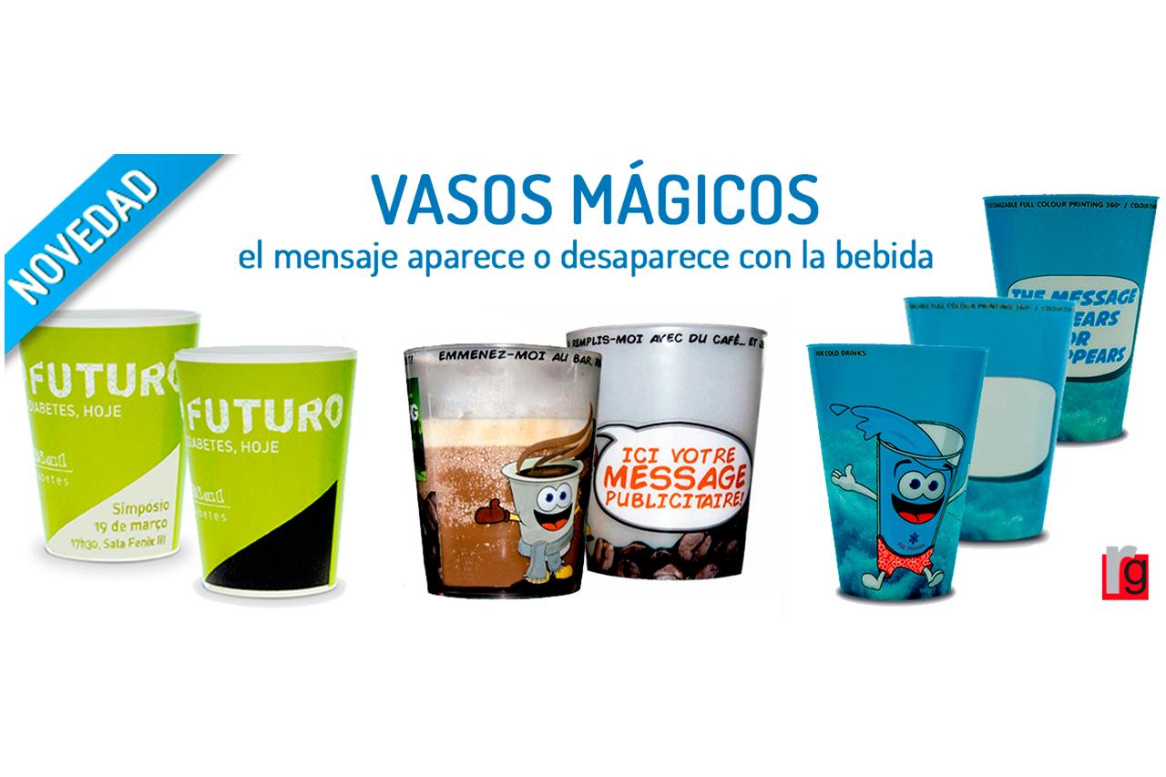 Vasos mágicos personalizados blog - RG regalos publicitarios