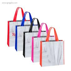 Bolsa non woven laminado asas colores - RG regalos publicitarios