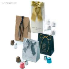 Bolsa personalizada con bombones - RG regalos publicitarios