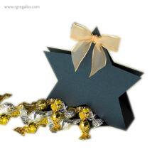 Cajas chocolates navidad estrella - RG regalos publicitarios