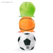 Mochila plana en forma de balón - RG regalos publicitarios