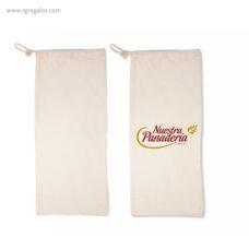 Bolsa personalizada de algodón para el pan - RG regalos publicitarios