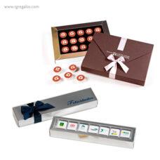 Cajas con bombones personalizados - RG regalos publicitarios