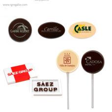 Chocolatinas publicitarias personalizadas - RG regalos publicitarios