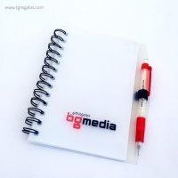 BG Media -libreta y bolígrafo