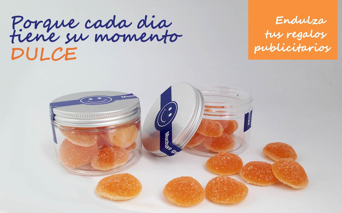 Bote Gominolas para Mutualia - RG regalos publicitarios