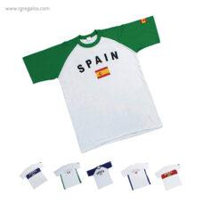 Camisetas publicitarias países -RG regalos publicitarios