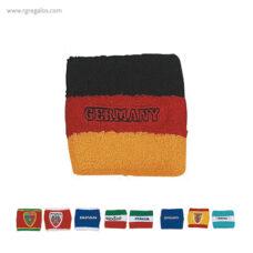 Muñequera bandera países - RG regalos publicitarios