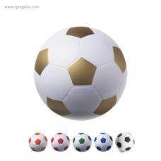 Pelota fútbol antiestrés - RG regalos publicitarios