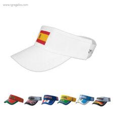 Visera bandera países - RG regalos publicitarios