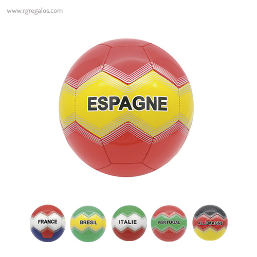 Balón de fútbol países - RG regalos publicitarios