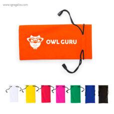 Funda de gafas en políester logotipo - RG regalos publicitarios