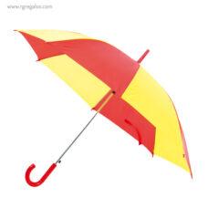 Paraguas amarillo y rojo - RG regalos publicitarios