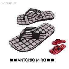 Chancla de Antonio Miró - RG regalos publicitarios