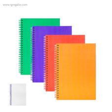 Cuaderno A5 combinado - RG regalos publicitarios