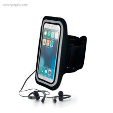 Funda para móvil con auriculares - RG regalos publicitarios