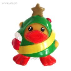 Patito de goma árbol navidad - RG regalos publicitarios