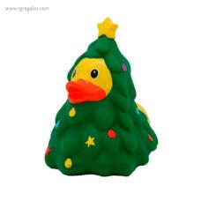 Patito de goma árbol navideño - RG regalos publicitarios
