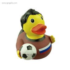 Patito de goma fútbolista - RG regalos publicitarios