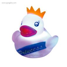 Patito de goma luminoso princesa - RG regalos publicitarios