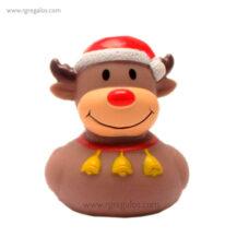 Patito de goma reno Rudolph - RG regalos publicitarios