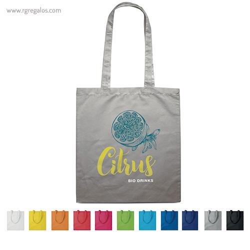 Bolsa 100% algodón colores - RG regalos de empresa