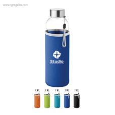 Botella con funda de neopreno - RG regalos publicitarios