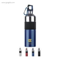 Botella de acero inoxidable bicolor - RG regalos publicitarios
