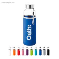 Botella con funda de neopreno de 500 ml - RG regalos publicitarios