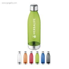 Botella tritán y acero inoxidable - RG regalos publicitarios
