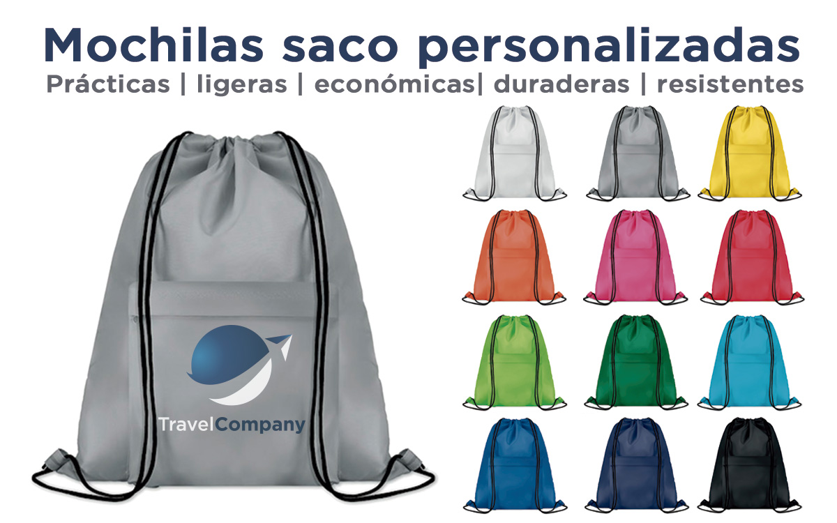 Mochilas saco personalizadas - RG regalos publicitarios