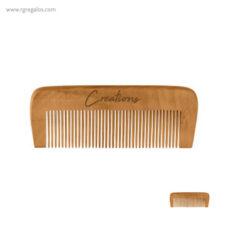 Peine en madera natural - RG regalos promocionales