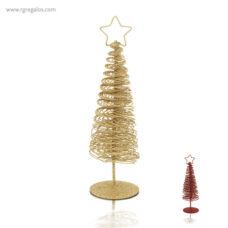Árbol navidad metálico - RG regalos publicitarios