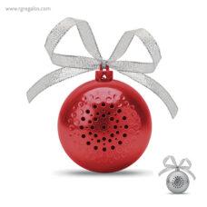 Bola de navidad altavoz logotipo - RG regalos publicitarios (2)