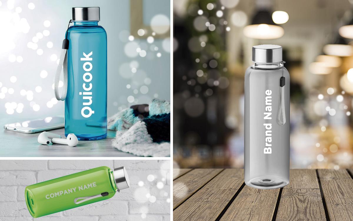 Botellas personalizadas reutilizables