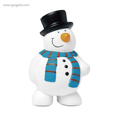 Muñeco de nieve antiéstres - RG regalos publicitarios