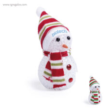 Muñeco de nieve con luz - RG regalos publicitarios
