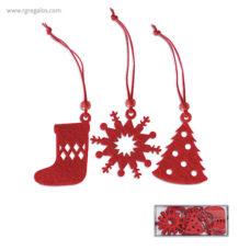 Set 12 adornos navideños - RG regalos publicitarios
