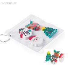 Set gomas borrar navidad - RG regalos publicitarios