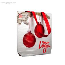 Bolsa navidad bolas con logotipo - RG regalos publicitarios