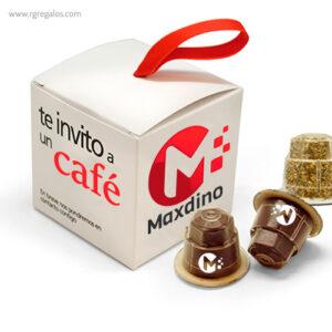 Cápsulas café personalizadas 2 - RG regalos publicitarios